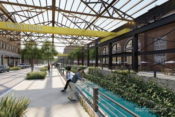 West End Concept plan